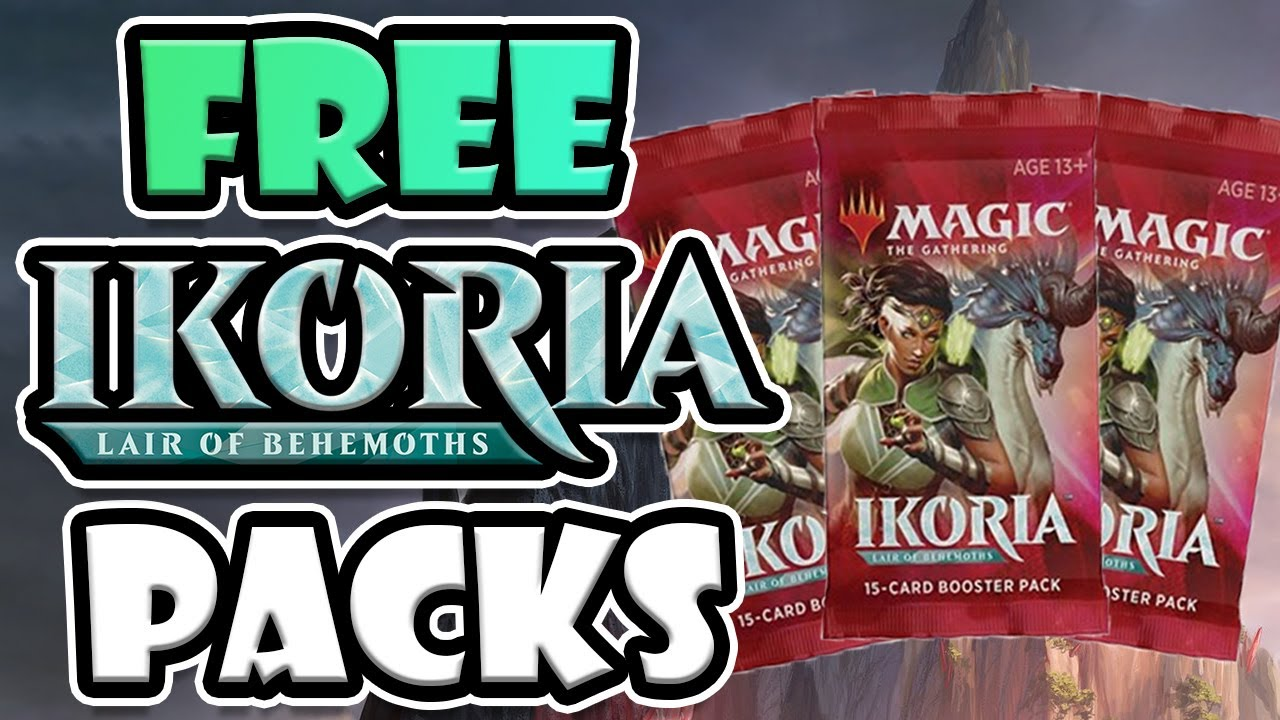 free magic the gathering booster packs