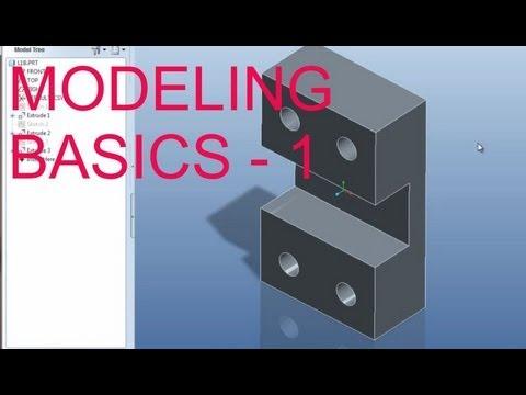 E1 Pro/Engineer Wildfire 5.0 Basic Modeling