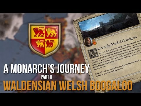 The Welsh Joan Of Arc?! | A Monarch Journey #2 | CRUSADER KINGS II