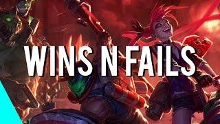 LoL - Wins n Fails! | ( League of Legends )