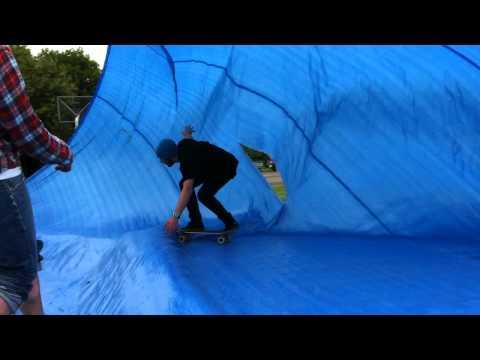 Tarp Surfing - Warsaw Jam