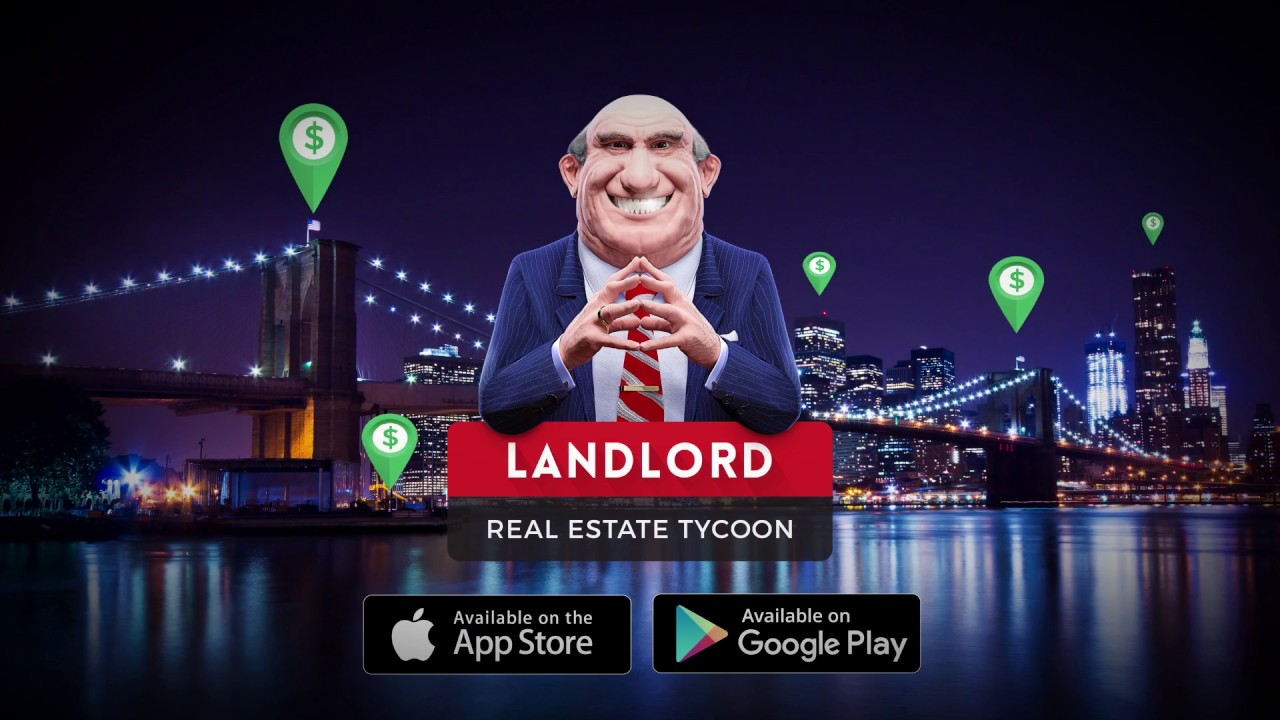Landlord Real Estate tycoon games for iOS & Android