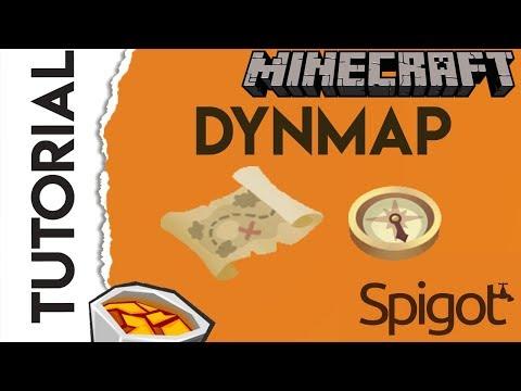 🌎 Tutorial Dynmap 🌎 | Mapa en linea para tu servidor de