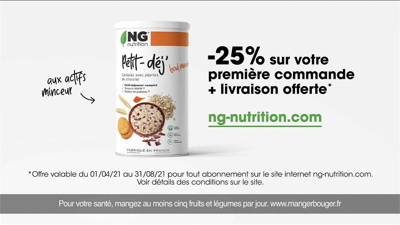 Musique de la pub   NG Nutrition (version courte) 2021