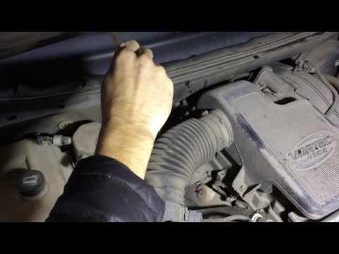 Замена масла и фильтра в АКПП на Шевроле Трейлблейзер 4,2 2007 года Chevrolet TrailBlazer
