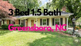 🎉Just Listed 3 Bed 1.5 Bath 🎉3009 Beaconwood Drive, Greensboro, NC 27455