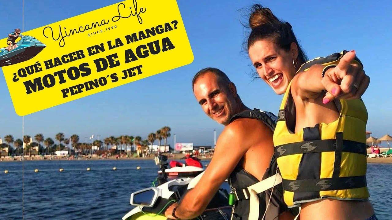 Qué hacer en La Manga de mar menor - Motos de Agua en Pepinos Jet
