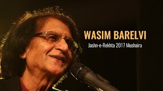 Wasim Barelvi | Jashn-e-Rekhta 2017 Mushaira