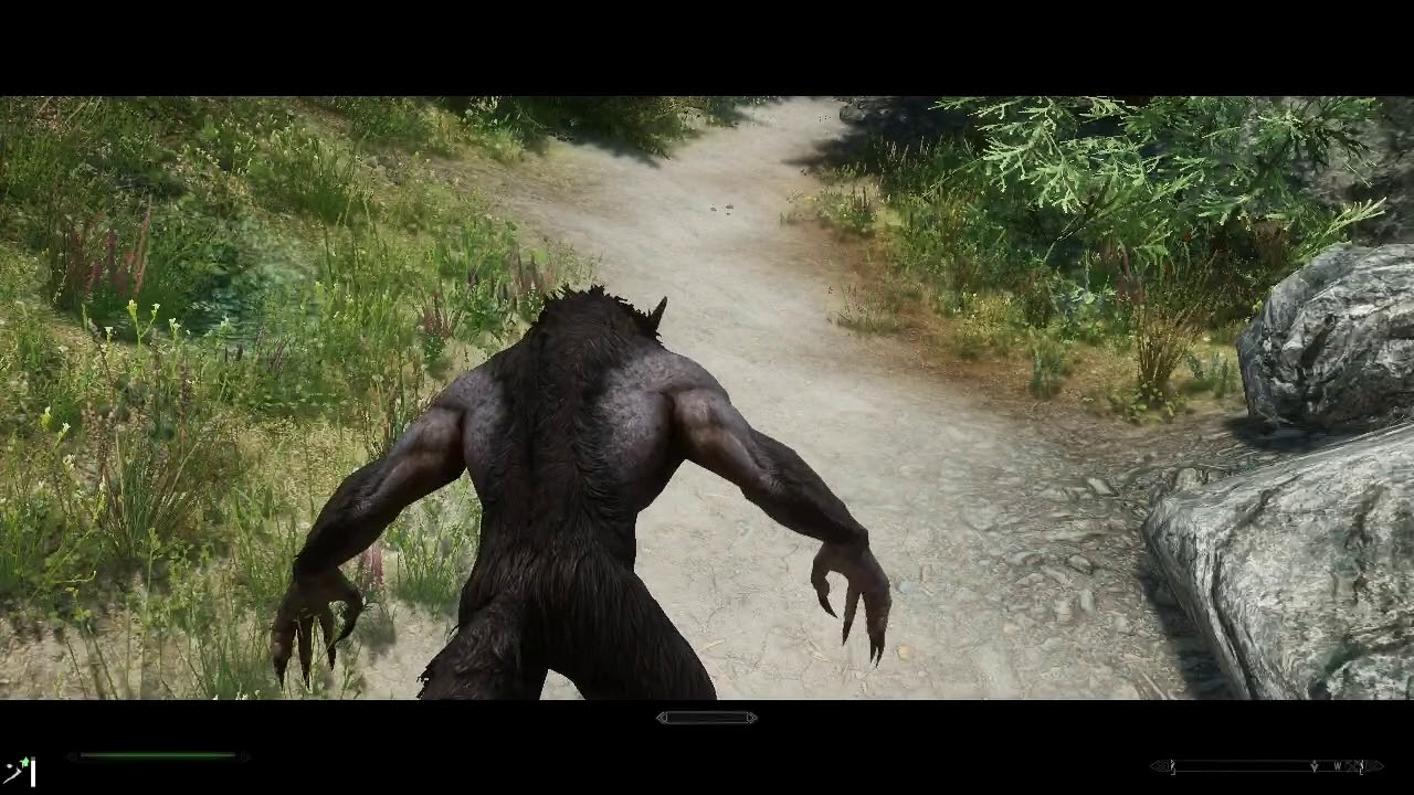 SKYRIM: A Werewolf in Eastmarch