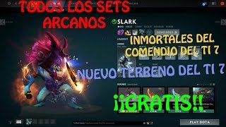 COMO TENER SETS DE DOTA 2 GRATIS + TERRENO DEL COMPENDIO TI 7/HOW TO GET FREE ITEMS ON DOTA 2