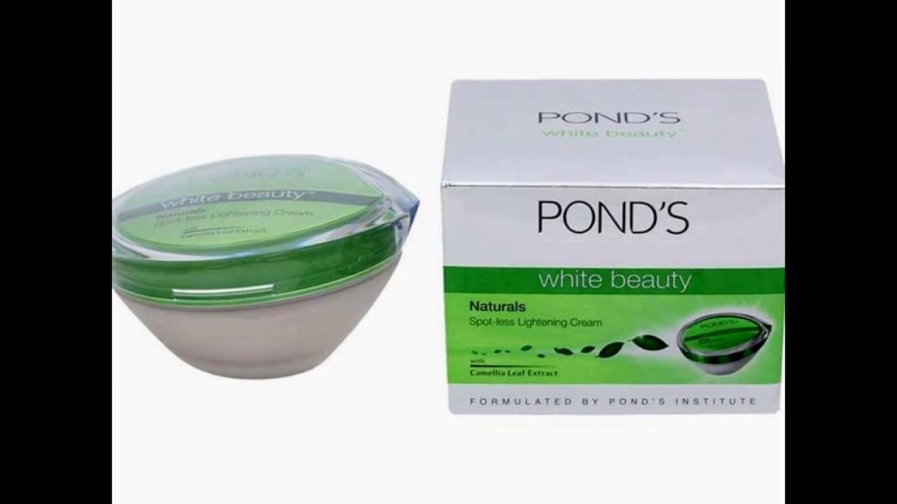Ponds White Beauty Naturals Spotless Lightening Cream Youtube Package