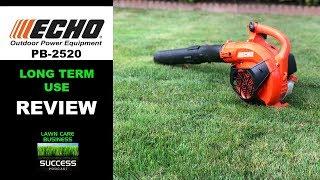 Echo PB-2520 hand held blower review