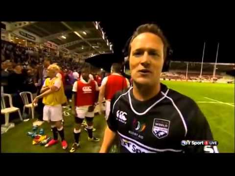 England vs Rest of World - Full Match | Rugby Aid - 4th September 2015