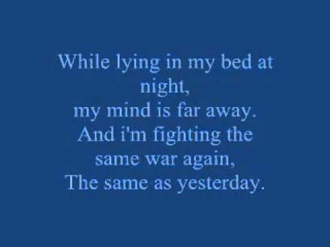 War Within (Ptsd Song) Lyrics