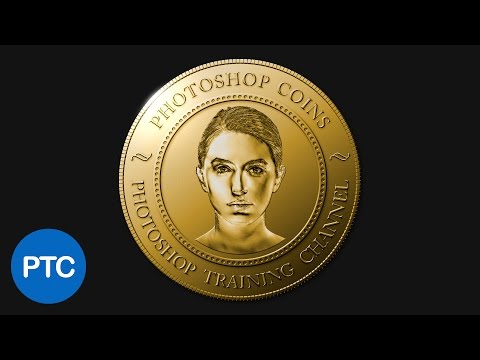 How To Create A Realistic Coin In Photoshop