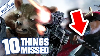 AVENGERS INFINITY WAR - Things Missed & Easter Eggs (Sort Of I Guess?)