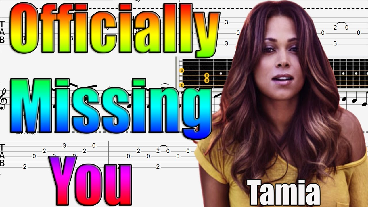 Officially Missing You Easy Guitar Tutorial Fingerstyle Youtube