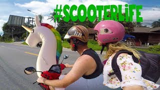 Exploring Koh Samui by Scooter and Unicorn | Thailand Travel Vlog