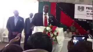 Peter Mutharika Speech at Comesa Hall