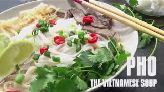 Pho, the Vietnamese Soup