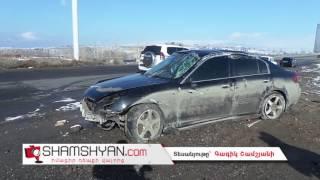 Ճանապարհային ոստիկանությունը պարզում է վթարի ենթարկված Infiniti ի խորհրդավոր վարորդի ինքնությունը