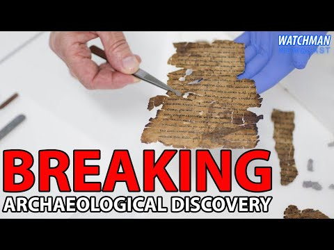 NEW Dead Sea Scrolls Discovered In Israel's Qumran Caves | Watchman Newscast
