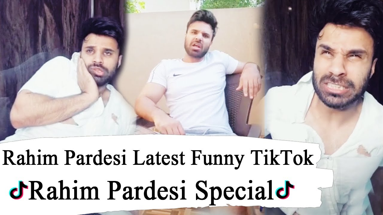 Rahim Pardesi Latest Funny TikTok Videos | DTE | Desi Tv Entertainment