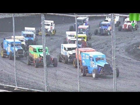 Dwarf Cars MAIN 9-9-17 Petaluma Speedway - 50 Laps