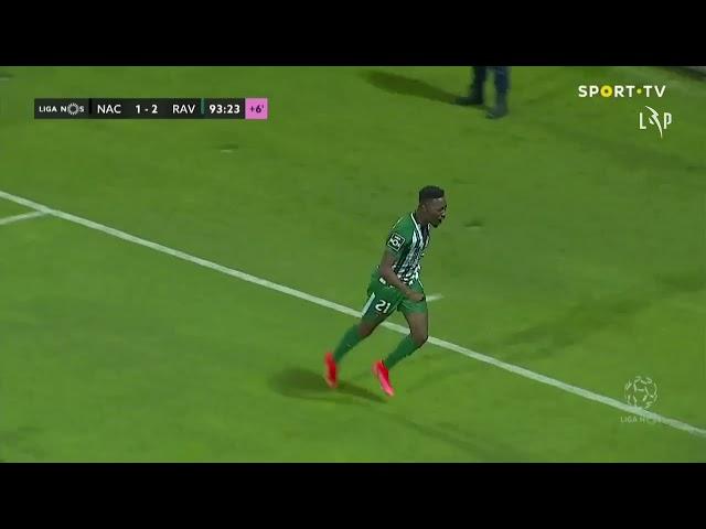 Goal | Golo Carlos Mané: CD Nacional 1-(2) Rio Ave (Liga 20/21 #34)