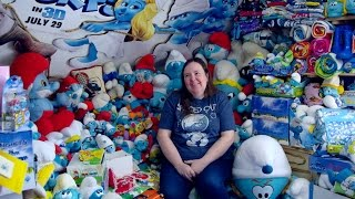 #Obsessed: World's largest collection of Smurf memorabilia
