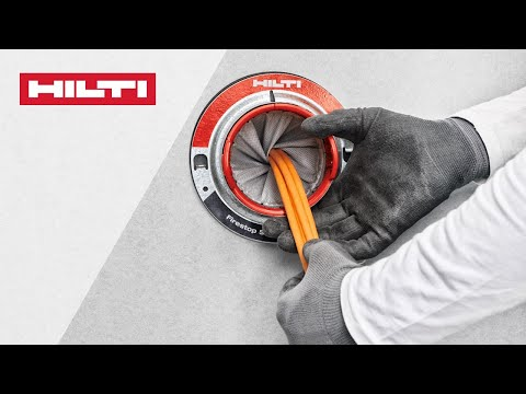 HOW TO Install Hilti CFS-SL GA Firestop Sleeve - EN And DIN