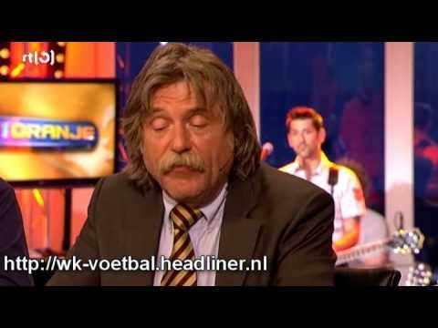Johan's frustratie over DWDD en Halina Reijn (VI Oranje)