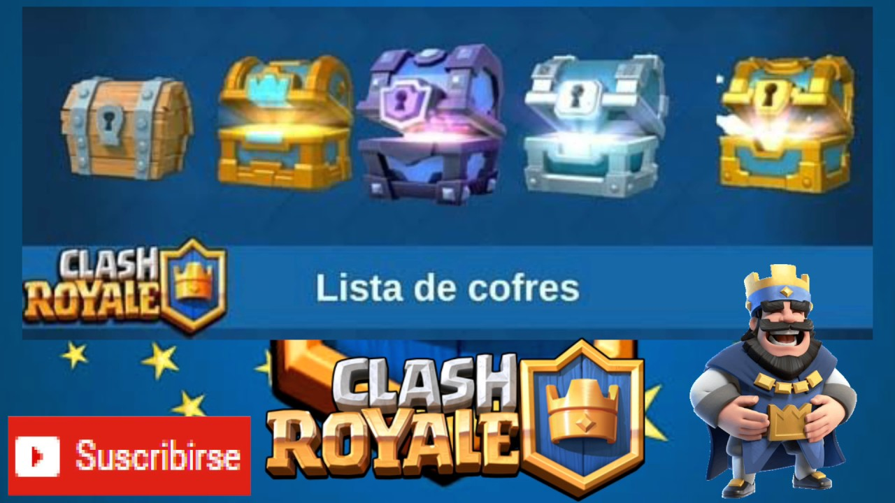Destapando Cofres De Clash Royal Youtube