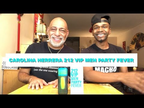 NEW Carolina Herrera 212 Vip Party Fever for Men REVIEW with Simply Put Scents + GIVEAWAY