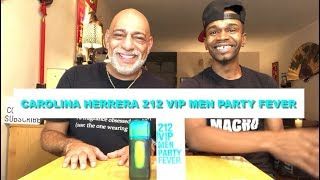 NEW Carolina Herrera 212 Vip Party Fever for Men REVIEW with Simply Put Scents + GIVEAWAY (CLOSED)