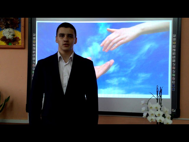 Изображение предпросмотра прочтения – АлександрГалярета читает произведение «Не прячьте доброты своей» В.В.Поденкова