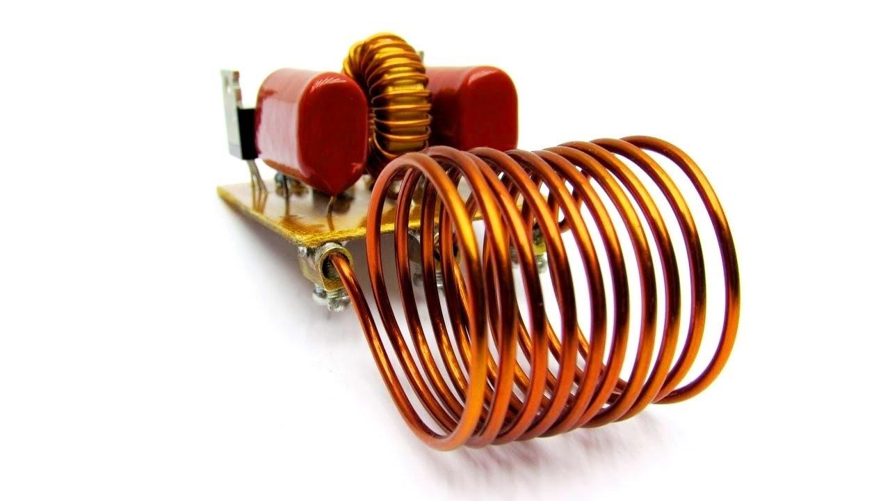 diy simple induction heater [ 1280 x 720 Pixel ]