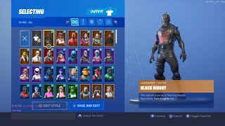 BEST FORTNITE SKIN LOCKER SHOWCASE Pt 2, OVER 250+ SKINS! ALL EMOTES RARE GLIDERS AND PICKAXES