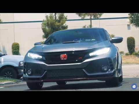 audiocityusa   2017 Honda Civic Type R   Wheel Selection   Ace Flowform AFF02