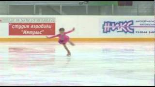 Юный фигурист Диана Морозова 6 лет Челябинск dmitowen
