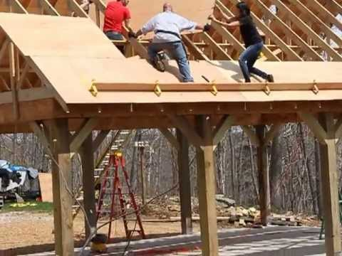 Plywood Base For Roof Youtube