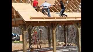 Plywood Base For Roof
