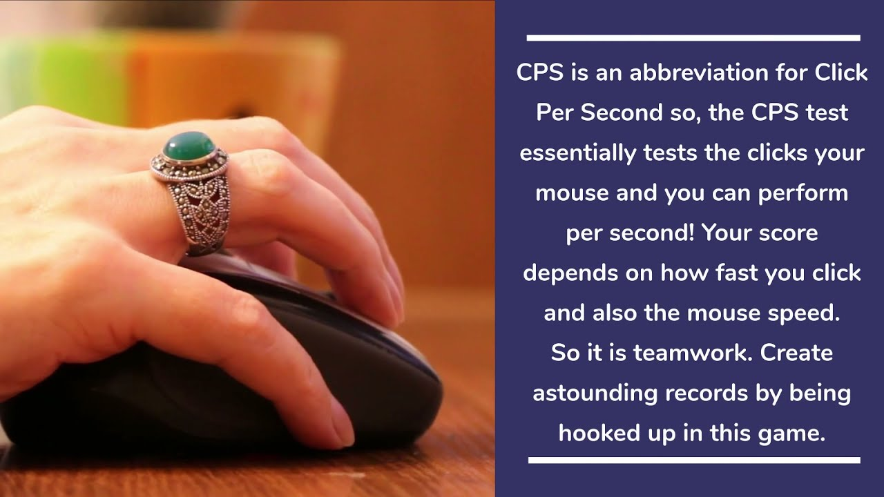 CPStests- Check Click Per Second Speed