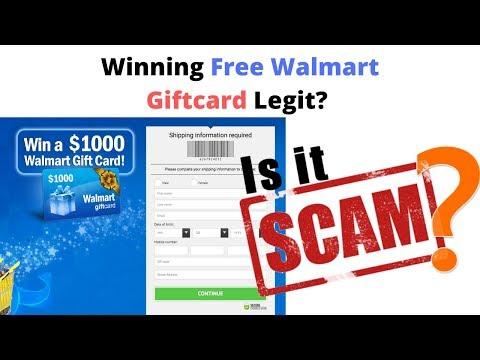 $1,000 Walmart Giftcard Scam - Walmart Text Scam