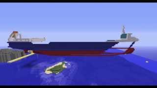 Minecraft Timelapse: Cargoship