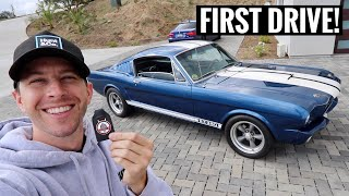 homepage tile video photo for Taking Delivery of my 1965 Ford Mustang Fastback! - 351 Windsor Engine Swapped!