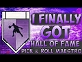 HOW TO GET THE PICK AND ROLL MAESTRO HALL OF FAME FAST AND EASY ?!?!? (MUST SEE)