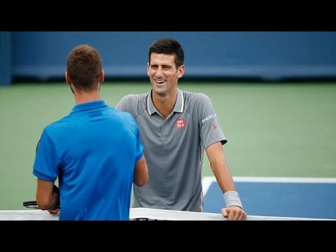 Novak Djokovic vs David Goffin || Highlights || Cincinnati Open 2015