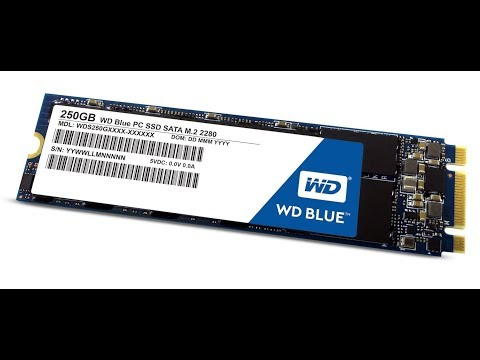 WDBlue M2 SSD Unboxing and Installation
