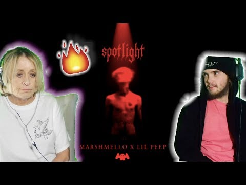 Grandma REACTS to Lil Peep - Spotlight (HER FAVORITE!)